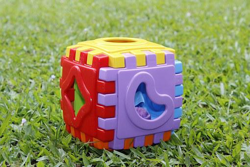 Toy, Colorful, Mounting Parts, Plastic, Child