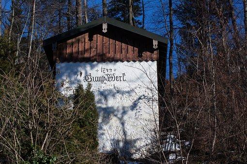 Gump Work, Old, Cottage, Forest, Wood, Building