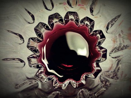Cup, Wine, Inside Cup, Glass