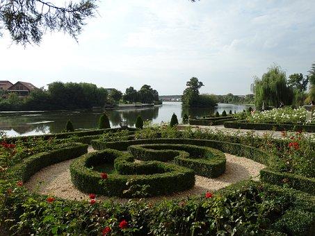 Gardens, Palace Mogosoaia, Park, Lake