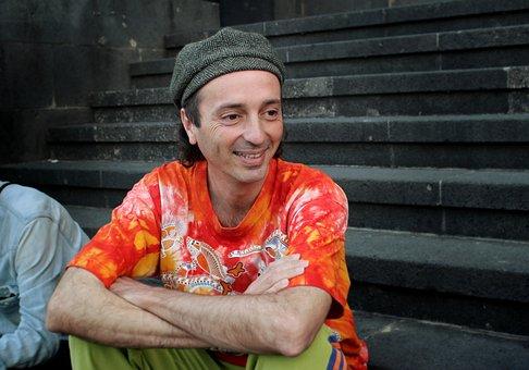 Arístides, Moreno, Spanish, Singer, Musician, Portrait