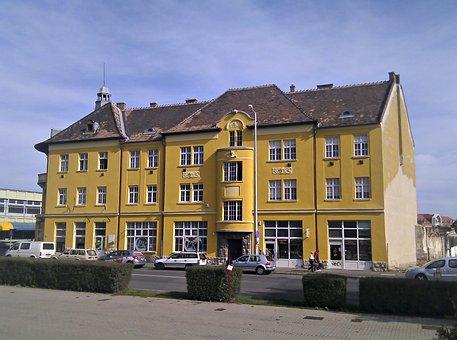 Pecs, Baranya, Hungary, City, Building, Downtown
