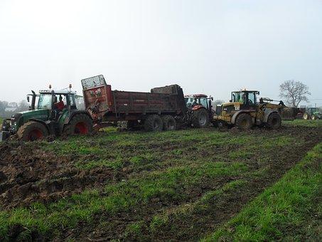 Tractors, Fendt, Tractor, Nature