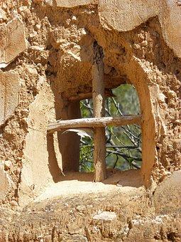 Window, Ruin, Balusters, Old, Abandoned