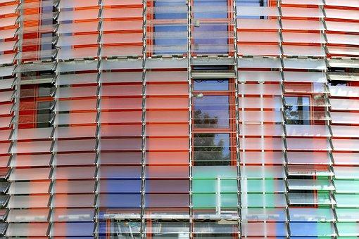 Torre Agbar, Barcelona, Spain, Office Building