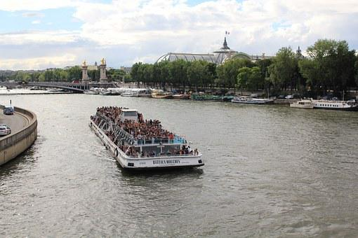 Seine-side, Boat, Paris, Sightseeing Tours