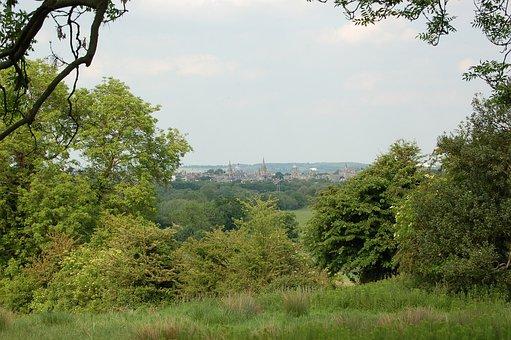 Oxford, Dreaming Spires, Oxbridge, Spires, Boar's Hill