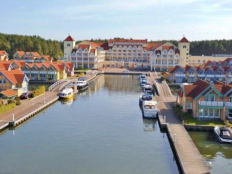 Marina Rheinsberg, Harbor Hotel, Rheinsberg