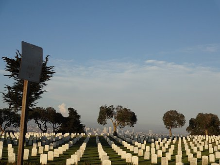 Fort Rosecrans, Memorial Cemetery, Military, Cemetery