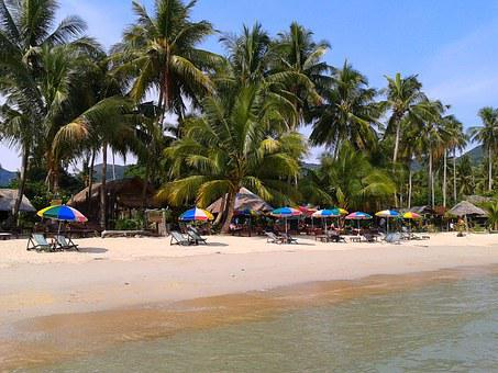 The Island Of Koh Kood, Thailand, Beach, Sea, Vacation