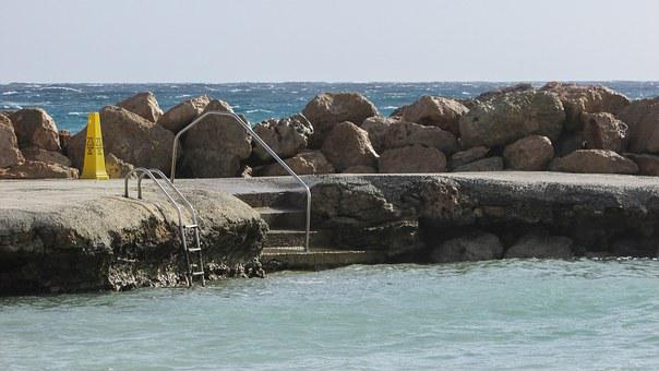 Cyprus, Ayia Napa, Hotel, Natural Pool, Stair, Steps