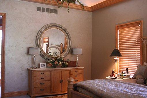 Bedroom, Paint, Decoration, Interior, Home, Room
