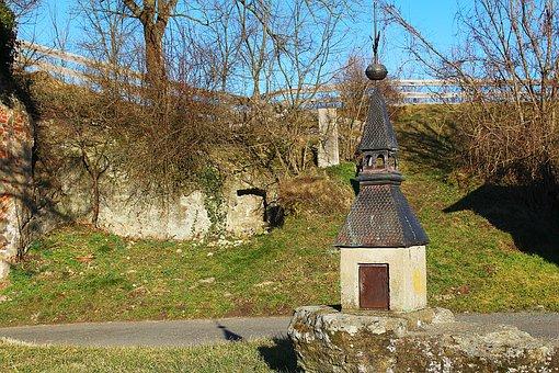 Tower, Burghof, Castle