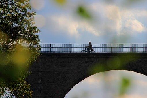 Bike, Cyclists, More, Bike Ride, Bridge, Cycle, Tour