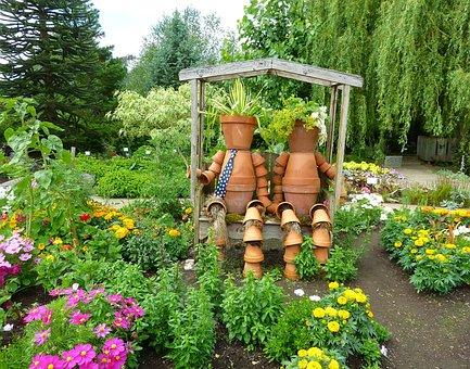 Garden, Decoration, Flower, Summer, Gardening, Object