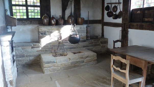 Old Kitchen, Museum, Museum Kitchen, Old, Antique