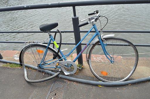 Bike, Not Maintained, Broken, Wheels