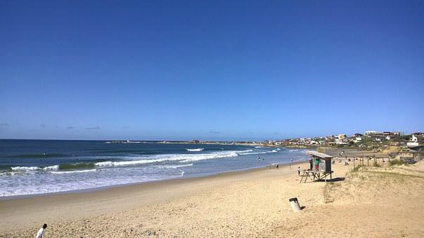 Uruguay, Beach, Punta Del Diablo, Sand