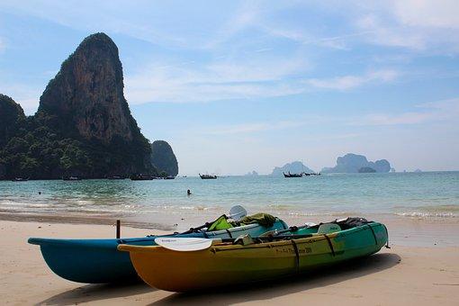 Thailand, Boat, Romance, Water, Sea, Ship, Beach, Ocean