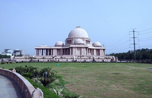 Dalit Prerna Sthal, Memorial, Sandstone, Noida, India