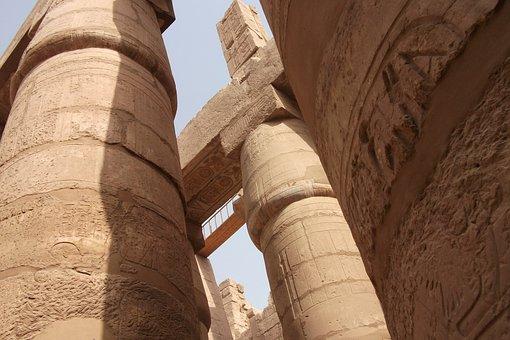 Columnar Temple, Egypt, Luxor, Places Of Interest