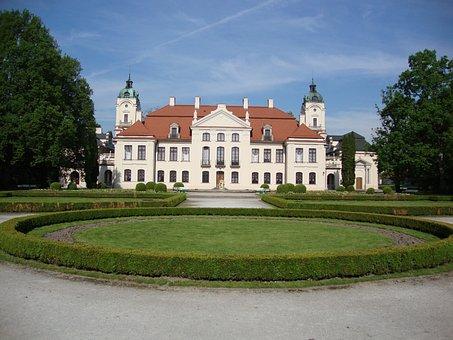Kozłówka, Poland, The Palace, Lubelskie, The Museum