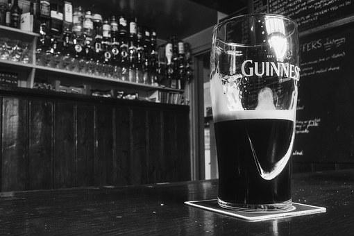Pint, Guinness, Bar, Alcohol, Beer, Ale, Glass, Pub