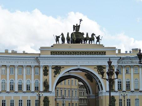 St Petersburg, Russia, Tourism, Facade, Architecture