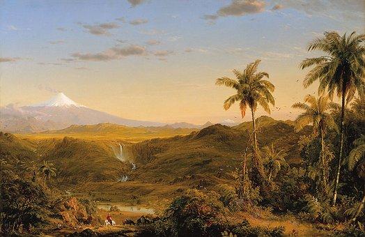 Fredric Church, Landscape, Painting, Art, Artistic