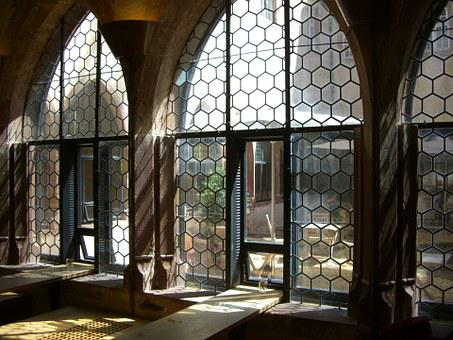 Cloister, Window, Augustinian Museum, Light, Shadow