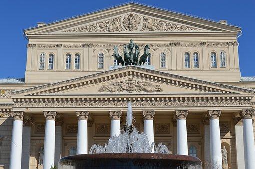 Bolshoi Theatre, Culture, Ballet, The Façade Of The