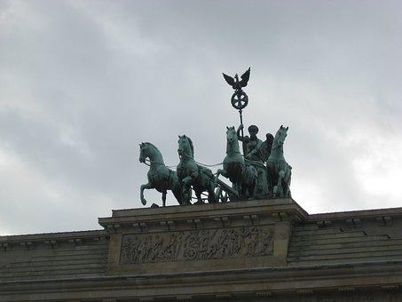 Brandenburg, Goal, Berlin, Landmark, Architecture
