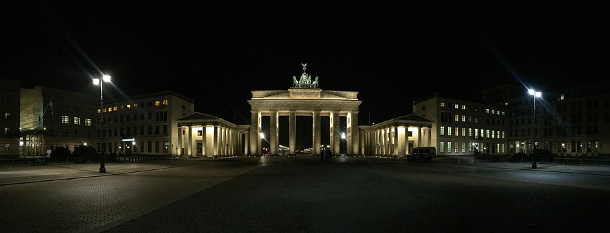 Berlin, Brandenburg Gate, Quadriga, Landmark, Goal