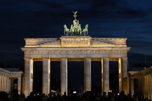 Brandenburg Gate, Berlin, Landmark, Quadriga, Goal