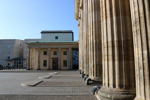 Brandenburg, Goal, Berlin, Architecture, Quadriga