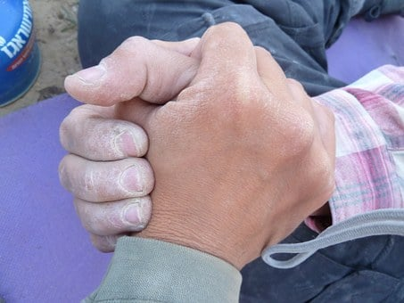 Hands, Shaking Hands, Hike, Trip, Dust, Dusty Hands