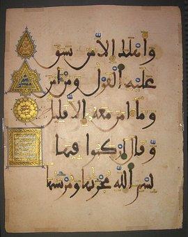 Arabic Characters, Hieroglyphics, Externally