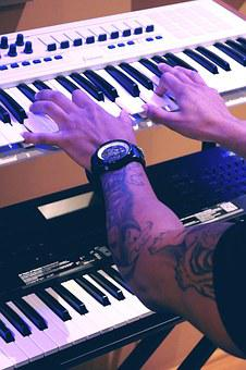 Piano, Playing, Music, Instrument, Keyboard, Play