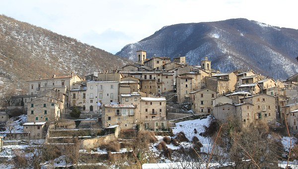 Scanno, Abruzzo, Landscape, Middle Ages, Italy, Town