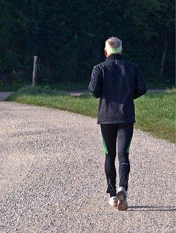 Jogger, Run, Leisure, Sport, Recovery, Jog, Away
