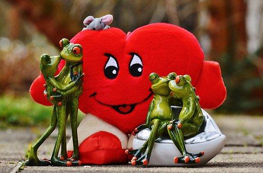 Love, Pair, Kiss, Flirt, Together, Cute, Friendship