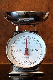 Horizontal, Kitchen Scale, Kitchen Utensil, Weigh