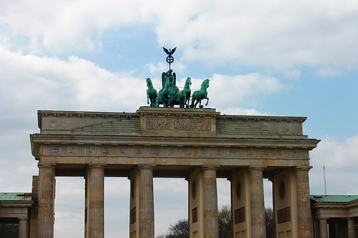 Brandenburg Gate, Berlin, Landmark, Quadriga, Building