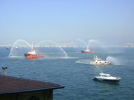 Veterans Day, Ship, V, Boat, Marine, Izmir