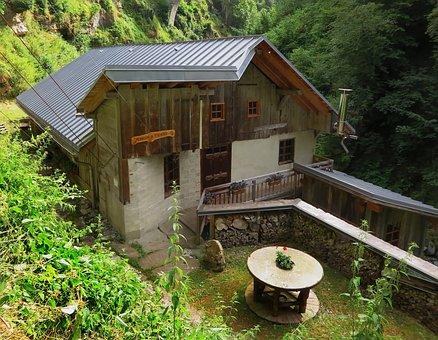 Savoie, Flumet, Mill, Water Mill, Valley Arly, History
