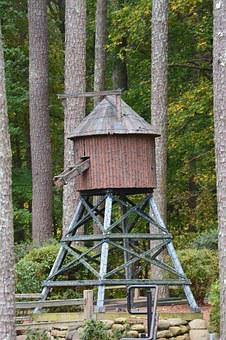 Mill, Water, Forest, Milling, Historic, Building, Wood