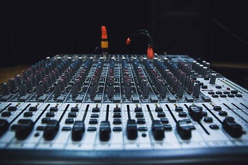 Technology, Music, Sound, Audio, Mixing Panel, Studio