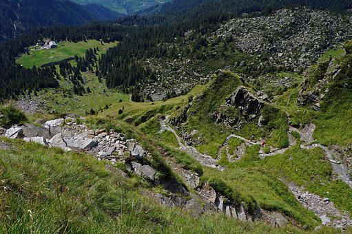 Trail, Merano, High Street, Refuge, Alm, Mountain