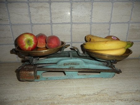 Old Scale, Old, Horizontal, Weigh, Fruit, Weigh Out