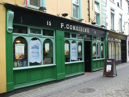 Irish Pub, Pub, Pub Front, Ireland, Considine Pub